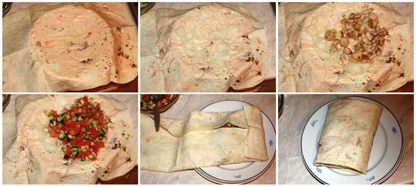 Шаурма как заворачивать в домашних условиях рецепт пошагово