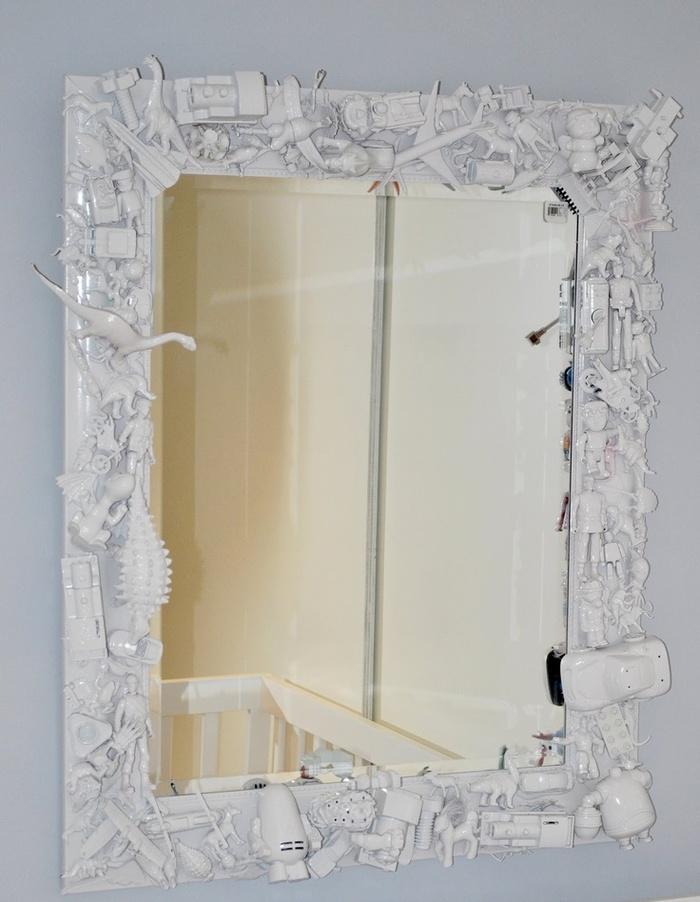 Как декорировать старое зеркало своими руками