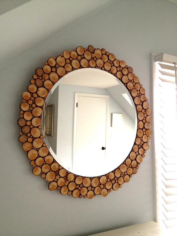 Декор для зеркала в прихожей