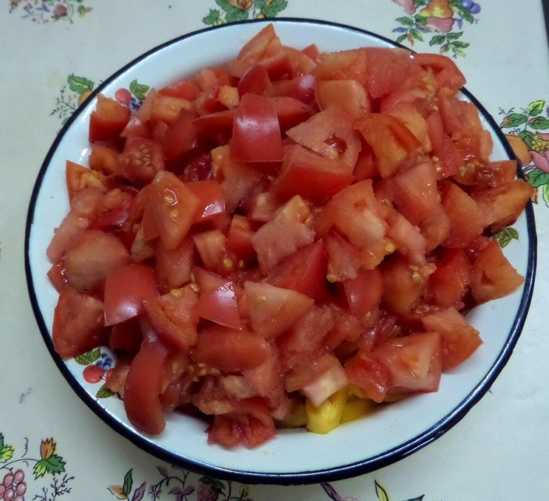 Кабачок помидор капуста рецепт