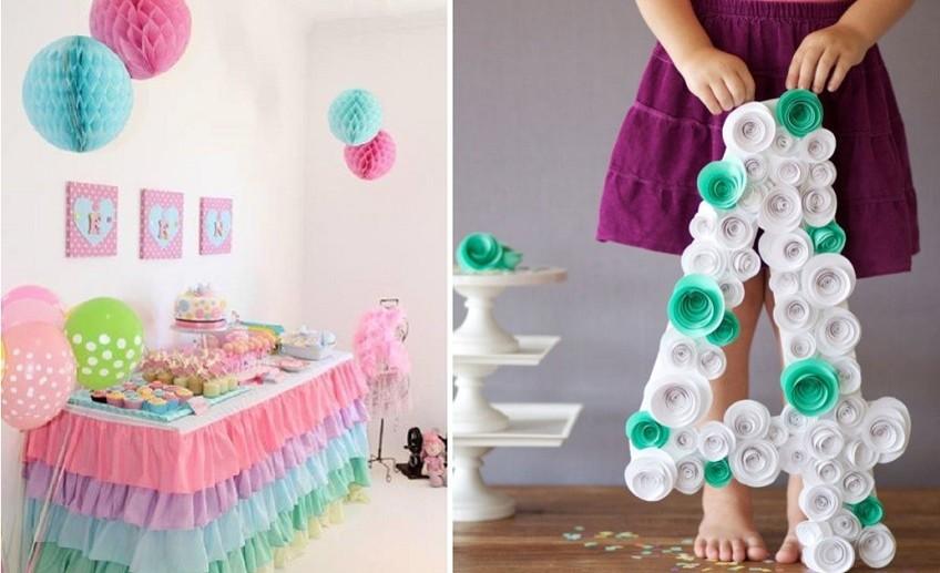 Как украсить детский праздник своими руками фото